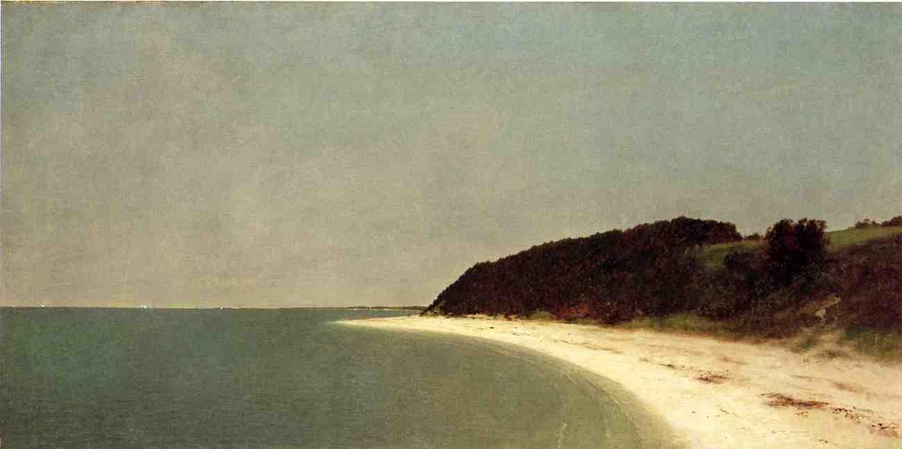 Eatons Neck Long Island 1872 | John Frederick Kensett | Oil Painting