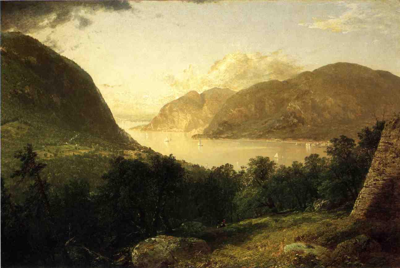 Hudson River Scene 1857 | John Frederick Kensett | Oil Painting