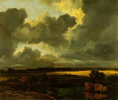 An Extensive Landscape With Ruins 1665-1675 | Jacob Van Ruisdeal | Oil Painting