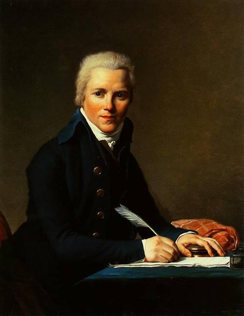 Portraits Of Jacobus Blauw 1795   Jacques-Louis David   Oil Painting
