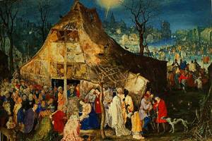 The Adoration Of The Kings 1598 | Jan Brueghel The Elder | Oil Painting