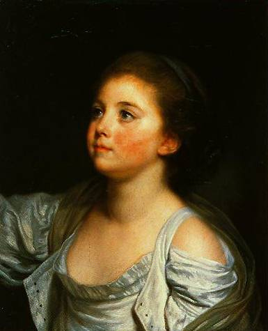 A Girl 1765-1780 | Jean-Baptiste Greuze | Oil Painting