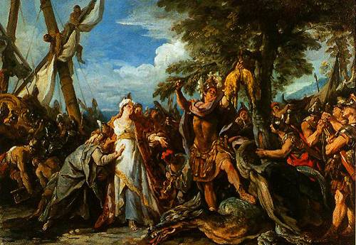 The Capture Of The Golden Fleece 1742-1743 | Jean-Francois Detroy | Oil Painting