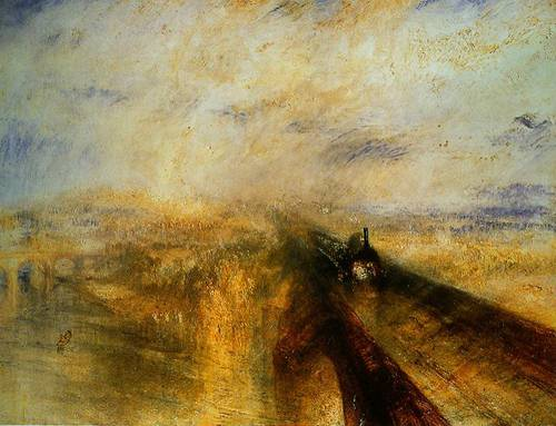 Rain Steam And Speed--The Great Western Railway 1844 | Joseph Mallord William Turner | Oil Painting