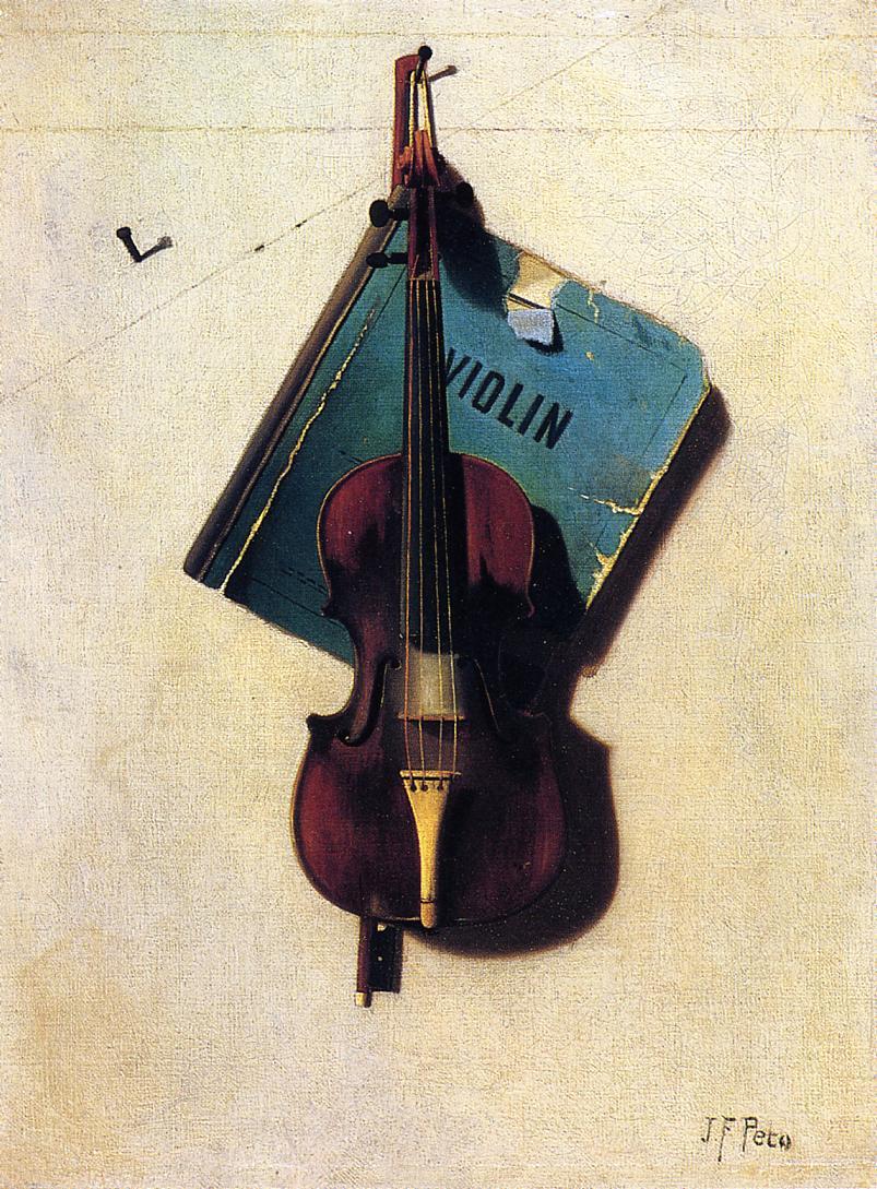 Violin 1891-1894 | John Frederick Peto | Oil Painting