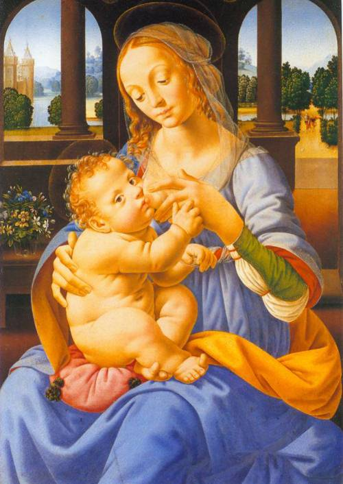 The Virgin And Child 1485-90 | Lorenzo Di Credi | Oil Painting