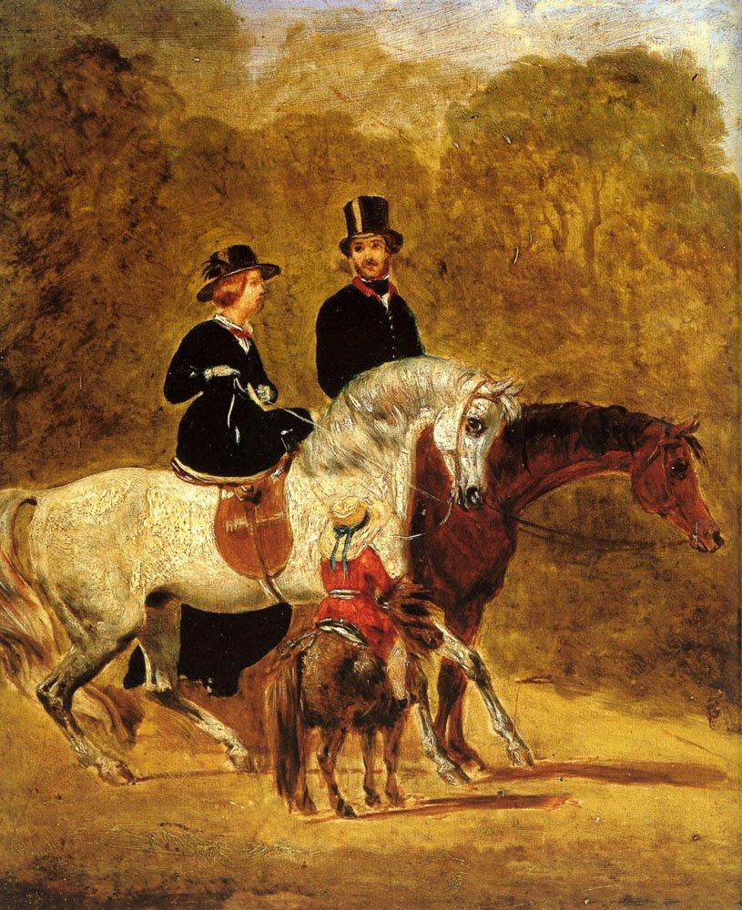 Sketch Of Queen Victoria | John Frederick Snr Herring | Oil Painting