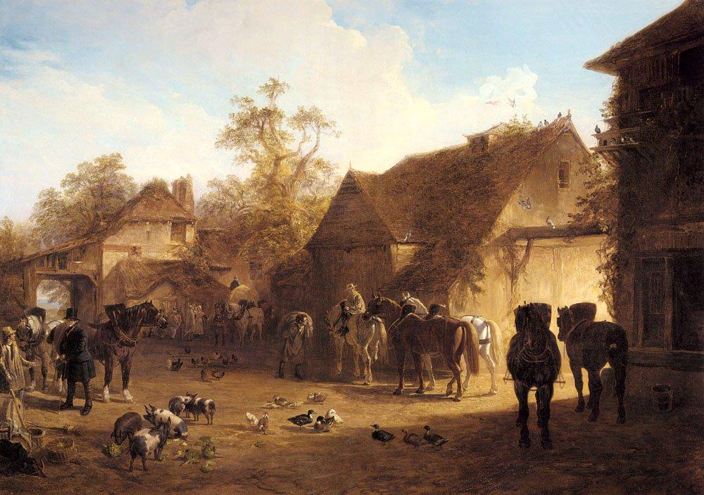 The Country Inn | John Frederick Snr Herring | Oil Painting
