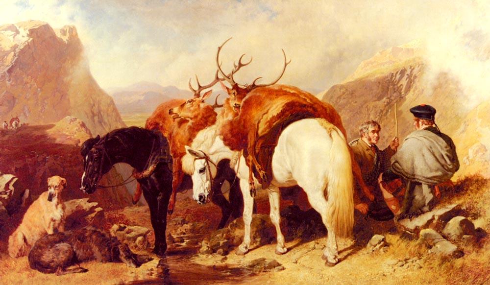 The Halt | John Frederick Snr Herring | Oil Painting