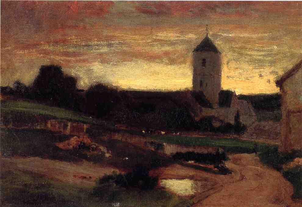 Italian View 1872 1874 | John George Brown | Oil Painting
