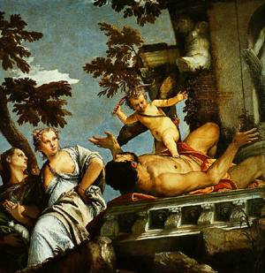 Allegory Of Love II(The Punishment Of Dishonest Love) 1575 | Paolo Veronese | Oil Painting