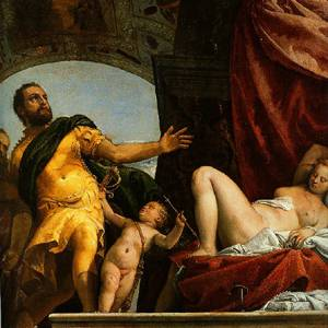 Allegory Of Love III(The Refusal Of Ephemeral Love) 1575 | Paolo Veronese | Oil Painting