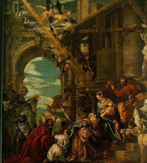 The Adoration Of The Kings 1573 | Paolo Veronese | Oil Painting