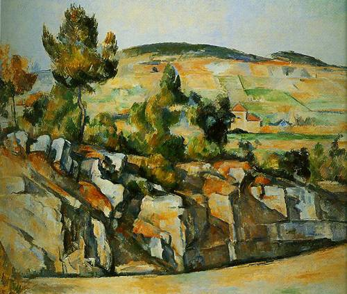 Hillside In Provence 1886-1890 | Paul Cezanne | Oil Painting