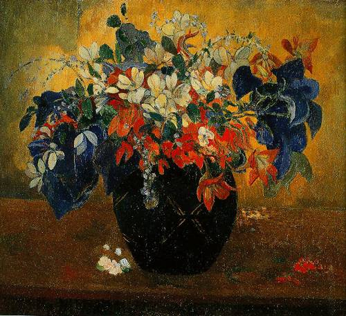 A Vase Of Flowers 1896 | Paul Gauguin | Oil Painting