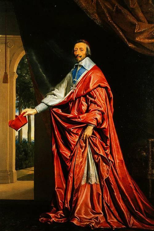 Cardinal Richelien 1637 | Philippe De Champaigne | Oil Painting