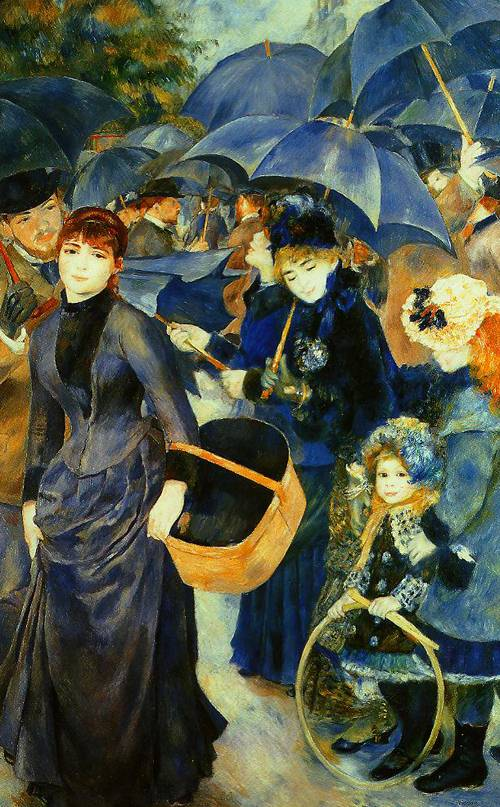 The Umbrellas 1881-1886 | Pierre-Auguste Renoir | Oil Painting