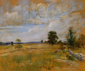 Connecticut Landscape 1889-1891 | John Henry Twachtman | Oil Painting