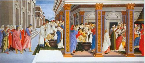 Incidents In The Life Of Saint Zenobius 1500 | Sandro Botticelli | Oil Painting