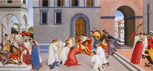 Miracles Of Saint Zenobius | Sandro Botticelli | Oil Painting