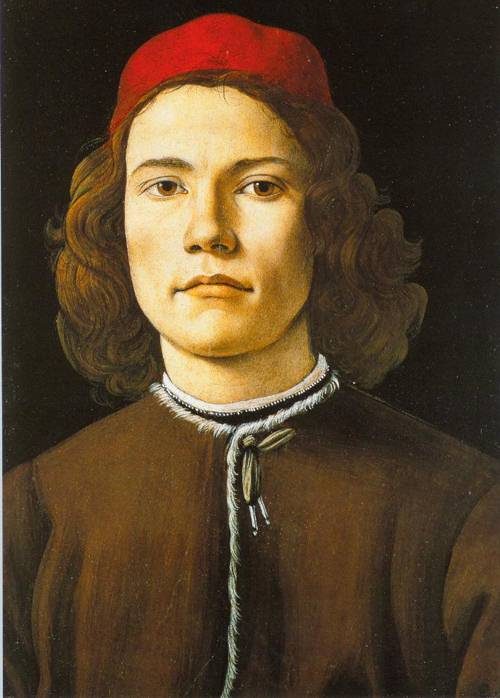 Portrait Of A Young Man 1480-85 | Sandro Botticelli | Oil Painting
