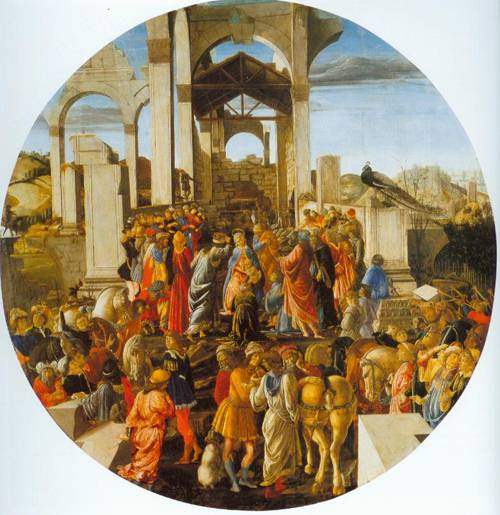 The Adoration Of The Kings 1473-74 | Sandro Botticelli | Oil Painting