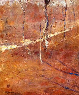 Landscape | John Henry Twachtman | Oil Painting