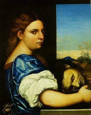 Salome With The Head Of John The Bapitist 1510 | Sebastiano Del Piombo | Oil Painting