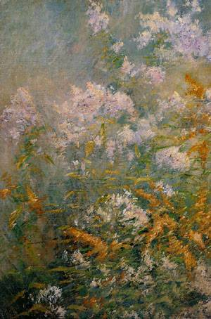 Meadow Flowers 1893 | John Henry Twachtman | Oil Painting