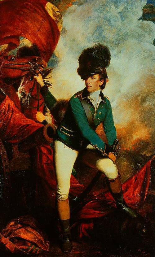 Colonl Banastre Tarleton 1782 | Sir Jorhua Reynolds | Oil Painting