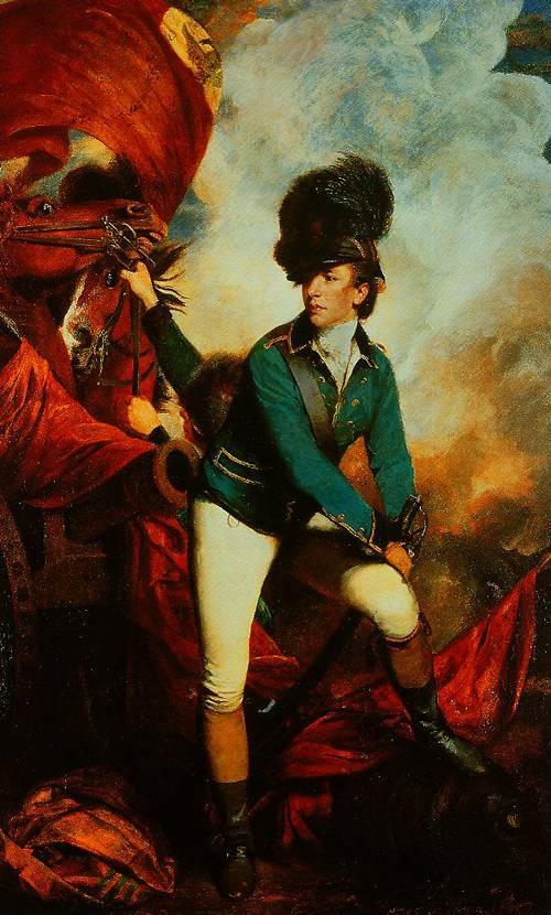 Colonl Banastre Tarleton 1782 | Sir Jorhua Reynolds | Oil Painting