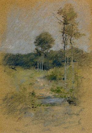 Spring Landscape | John Henry Twachtman | Oil Painting
