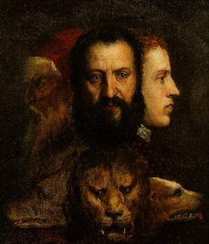 An Allegory Of Prudence 1565-1570 | Titian | Oil Painting