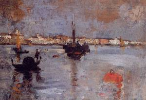 The Grand Canal Venice 1878 | John Henry Twachtman | Oil Painting