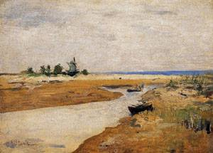 The Inlet 1881 | John Henry Twachtman | Oil Painting