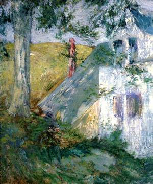 The Summer House | John Henry Twachtman | Oil Painting