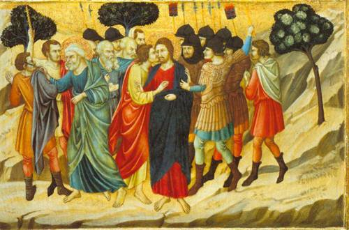 The Betrayal Of Judas And The Arrest Of Christ 1325 | Uglino Di Nerio | Oil Painting