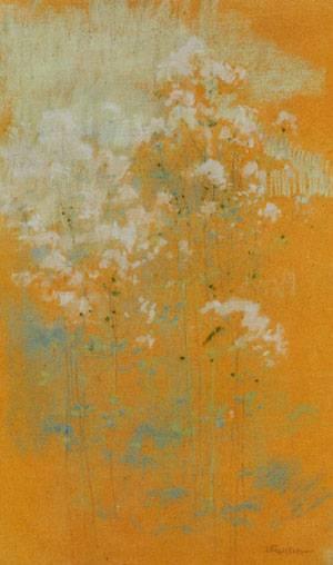 Wild Flowers 1889-1891 | John Henry Twachtman | Oil Painting