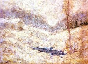 Winter Scene | John Henry Twachtman | Oil Painting