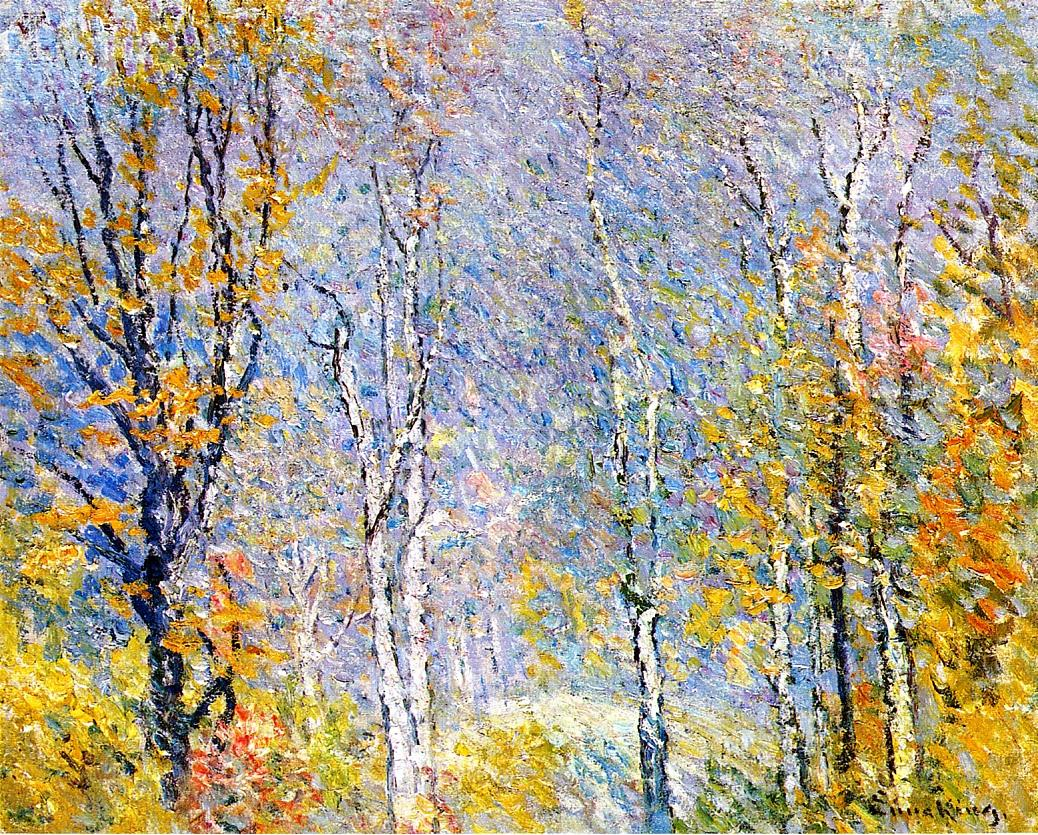 Birches | John Joseph Enneking | Oil Painting