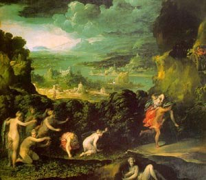 The Rape Of Proserpine | Niccolo Dell Abbate | Oil Painting