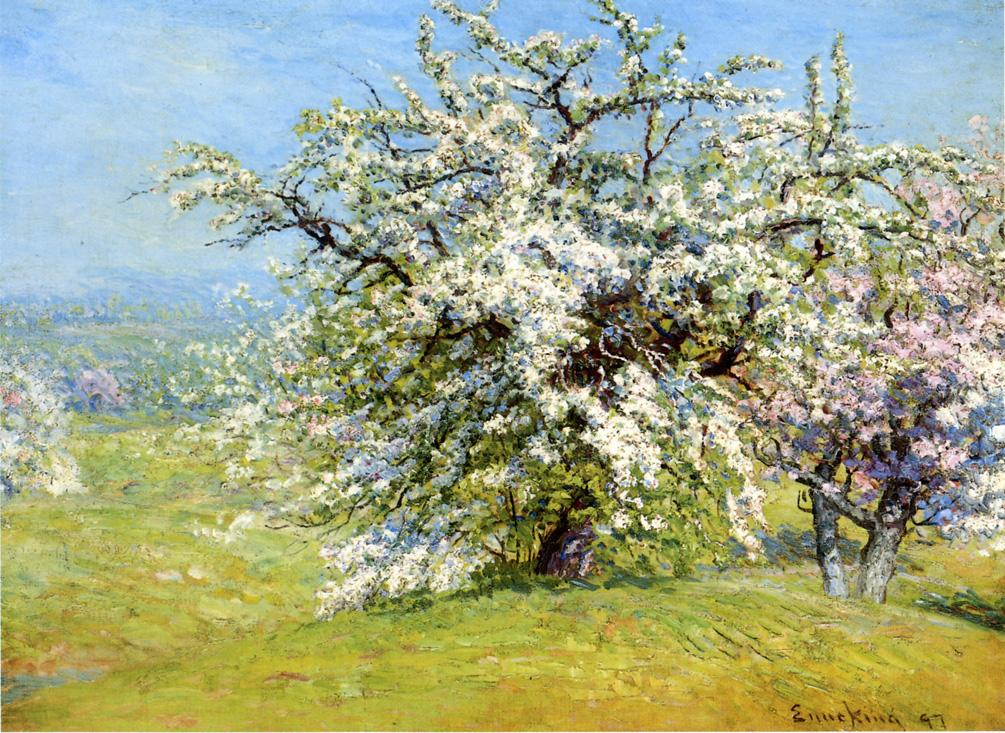 Blooming Meadows 1897 | John Joseph Enneking | Oil Painting