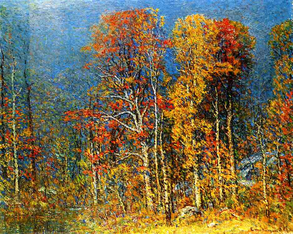 Fall Landscape 1913 | John Joseph Enneking | Oil Painting