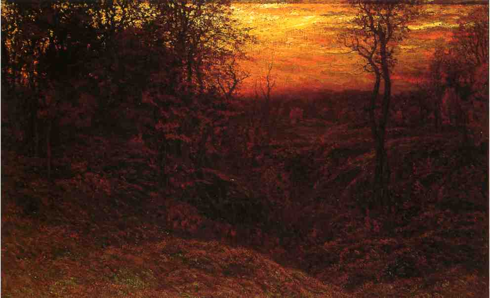 Landscape at Sunset 1900 | John Joseph Enneking | Oil Painting