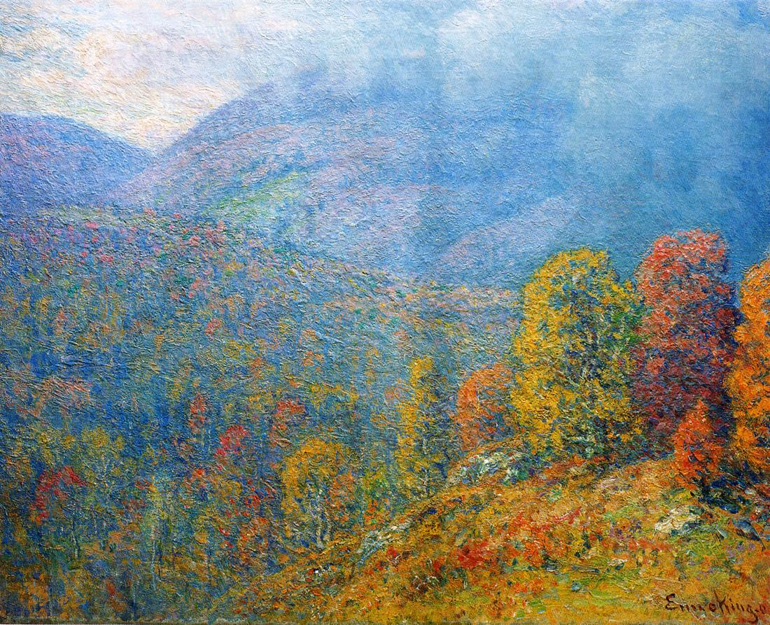 Mountain Landscape 1902 | John Joseph Enneking | Oil Painting