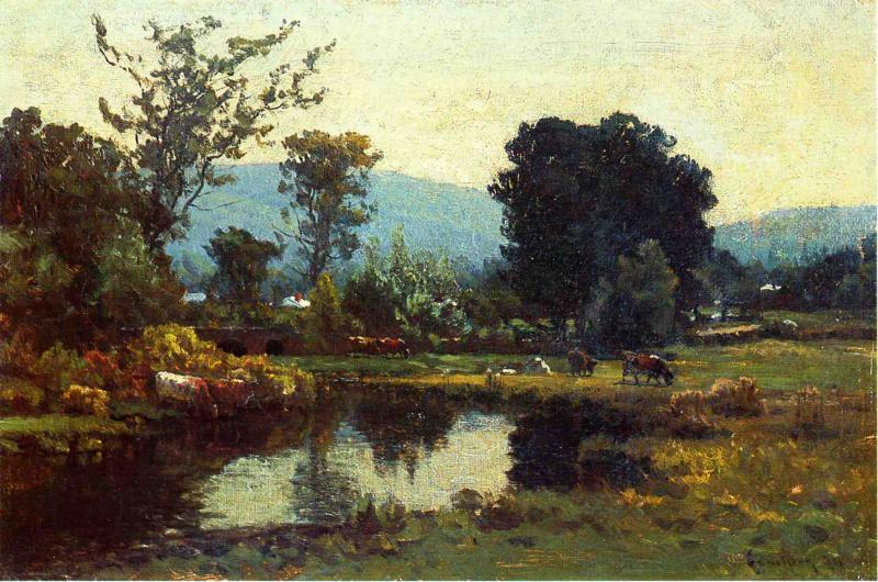 Peaceful Valley 1877 | John Joseph Enneking | Oil Painting