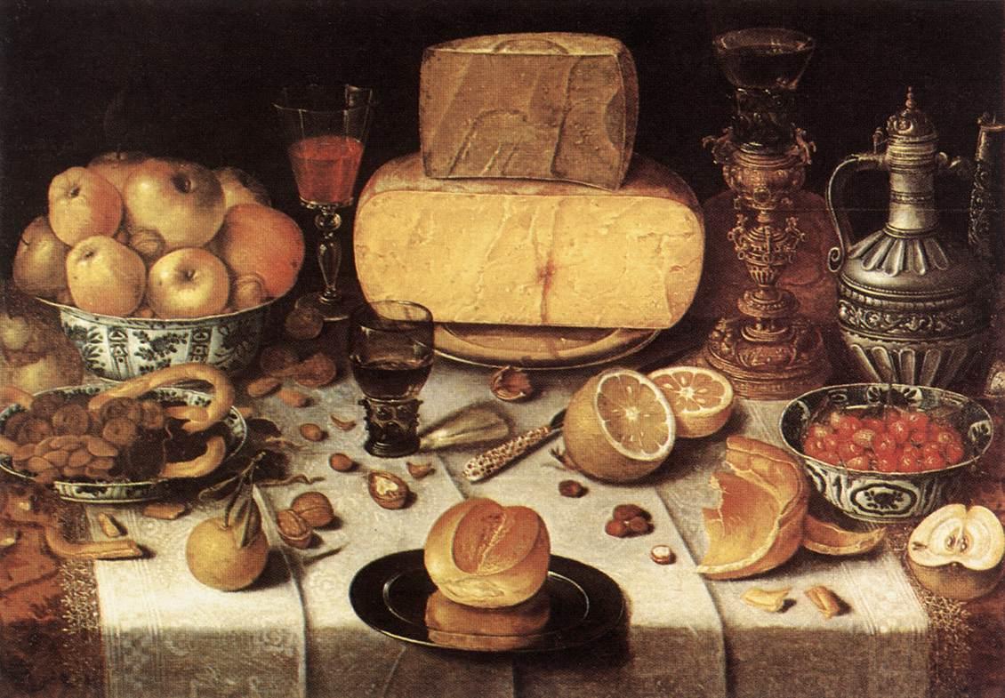 Laid Table 1611 | Nicolaes Gillis | Oil Painting