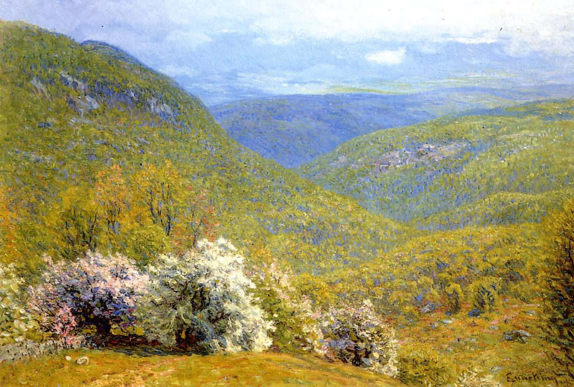 Spring Hillside | John Joseph Enneking | Oil Painting