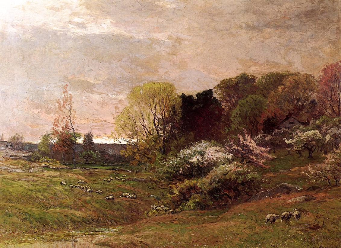 Spring Morning 1889 | John Joseph Enneking | Oil Painting