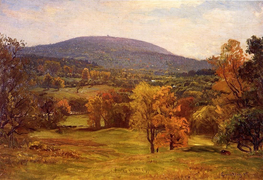 The Milton Blue Hills 1887 | John Joseph Enneking | Oil Painting